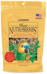 nutriberries parrot 10 oz