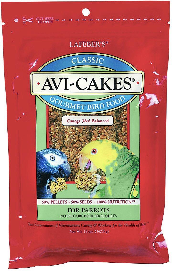 AVI-CAKES PARROTS 12OZ