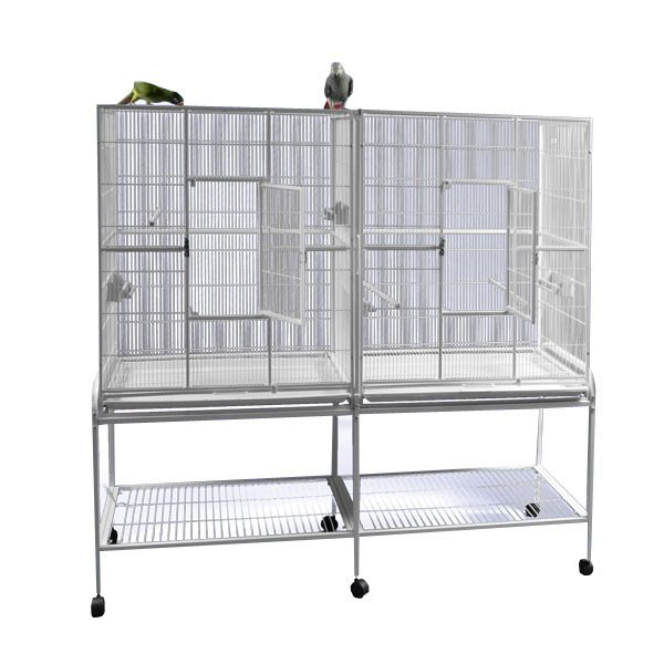 64x21 double flight cage