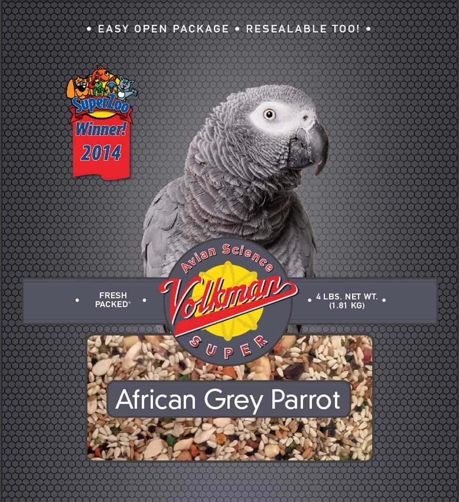 AFRICAN GREY 4lb
