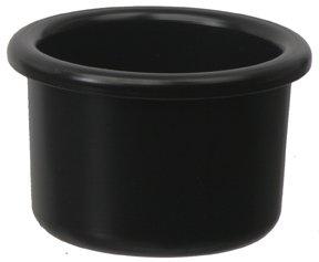 8 oz crock black