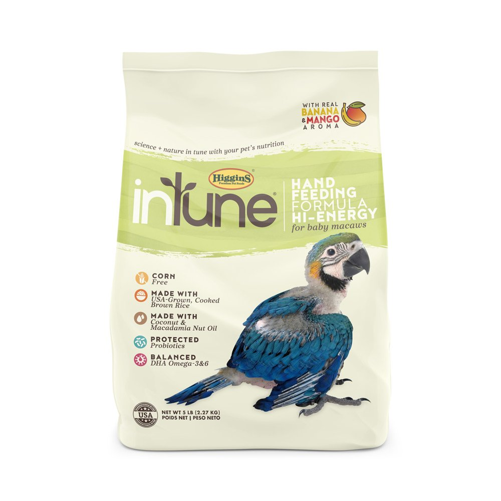 INTUNE HANDFEEDING HI-ENRICHMENT (macaw) 5LB