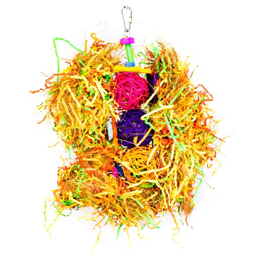 S026 Foraging star with wicker balls