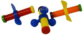 SB 761 Wing nuts foot toy