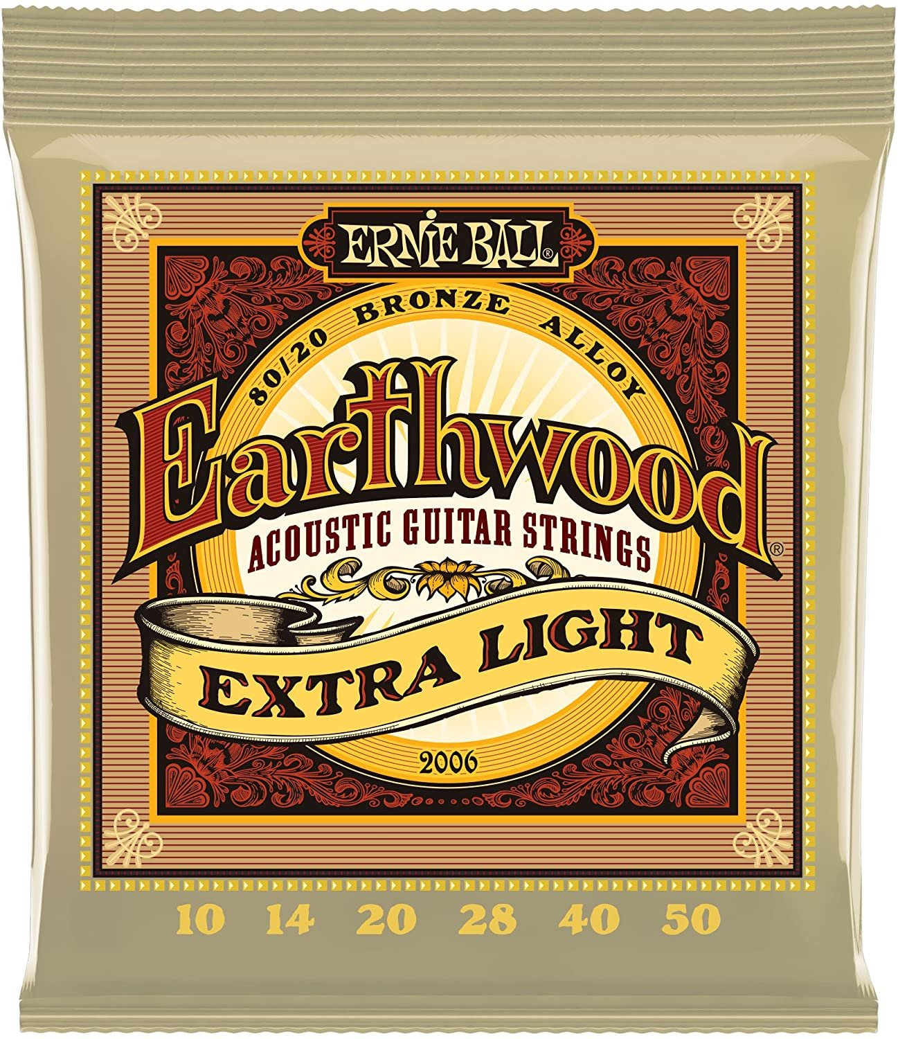 Earthwood Extra Light Acoustic Strings 2006