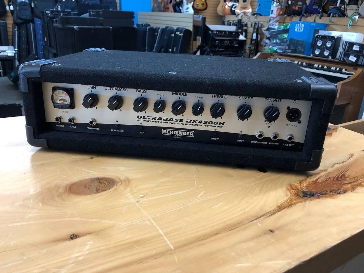 Behringer BX4500H Bass Amp