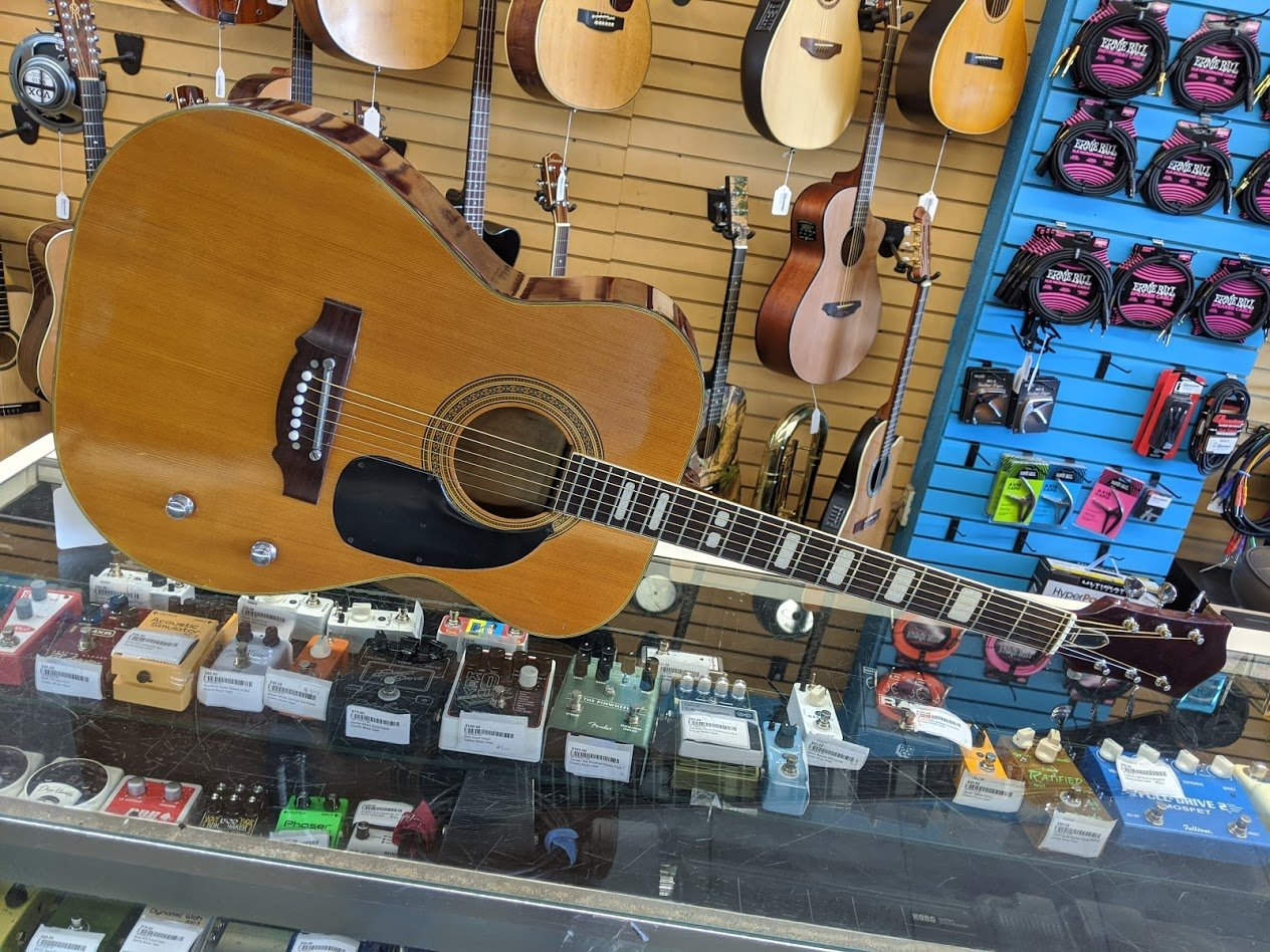 National FE-199 Acoustic Guitar