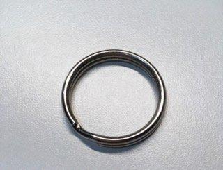 24 mm Split Ring - Silver