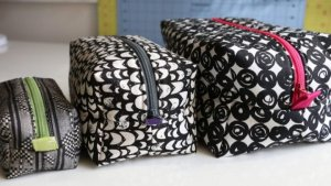 Zippered Box Pouch | Virtual Quilt Retreat | Watergirl Quilt Co.