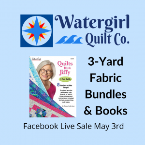 Facebook Live Sale | Fabric Cafe| 3 Yard Quilts