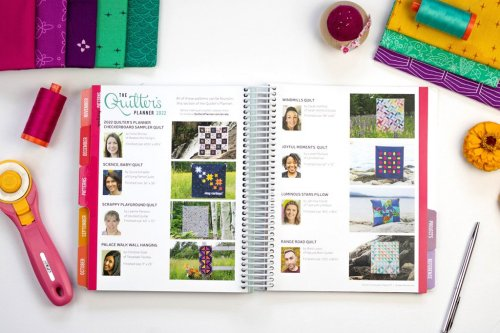 Watergirl Quilt Co.    The Quilter's Planner 2022