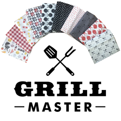 Grill Master by Camelot Fabrics 10 Fat Quarters Bundle