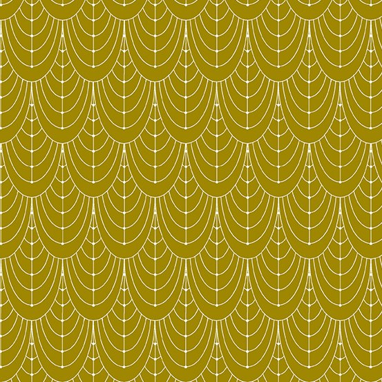 Century Prints Deco by Giucy Giuce for Andover Fabrics - Brass