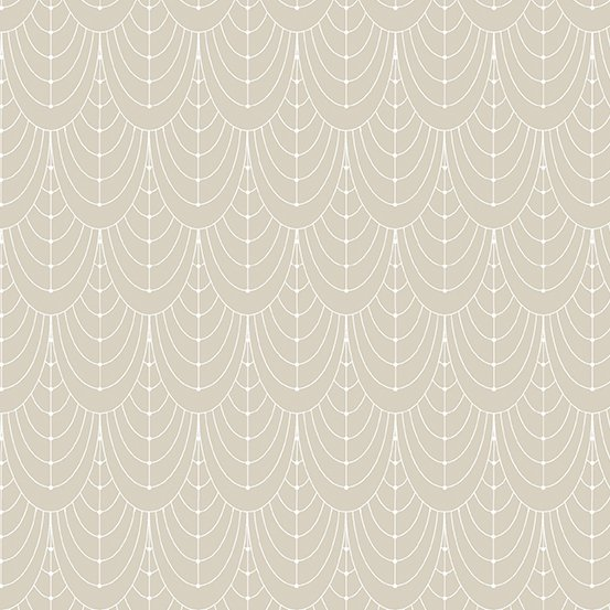 Century Prints Deco by Giucy Giuce for Andover Fabrics - Champagne