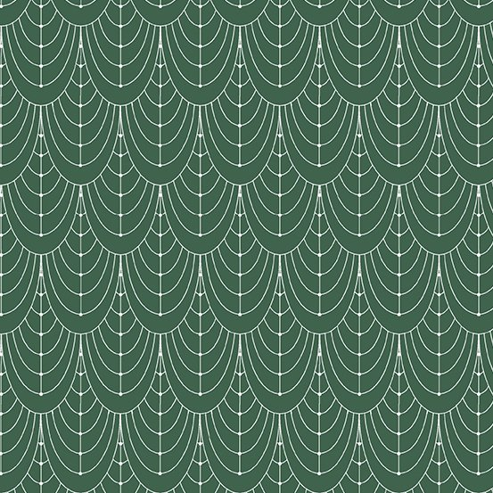 Century Prints Deco by Giucy Giuce for Andover Fabrics - Hunter