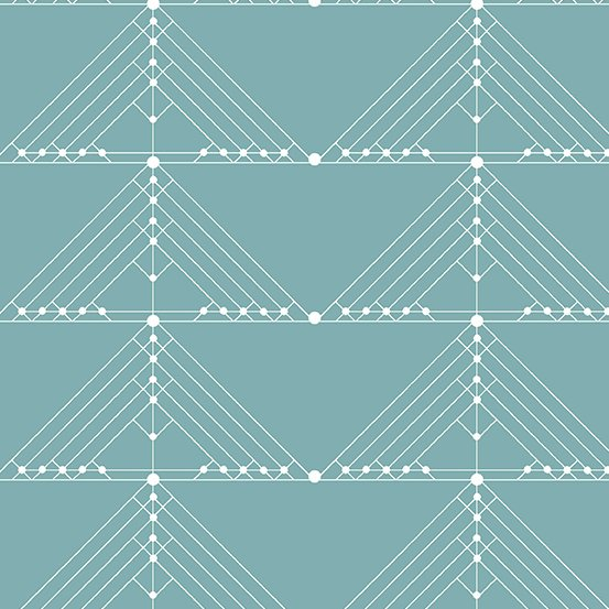 Century Prints Deco by Giucy Giuce for Andover Fabrics - Faded