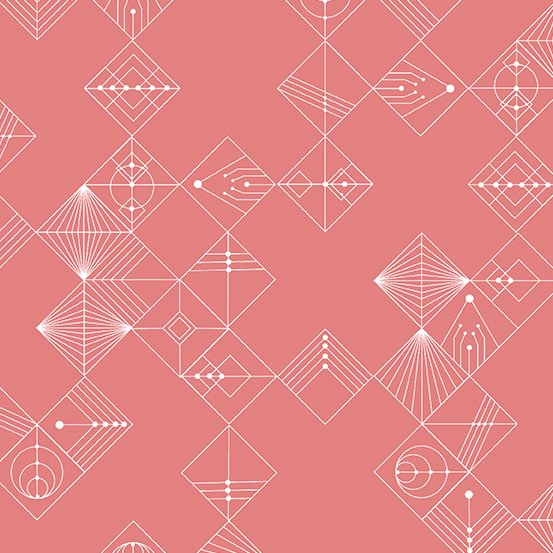 Century Prints Deco by Giucy Giuce for Andover Fabrics - Dawn