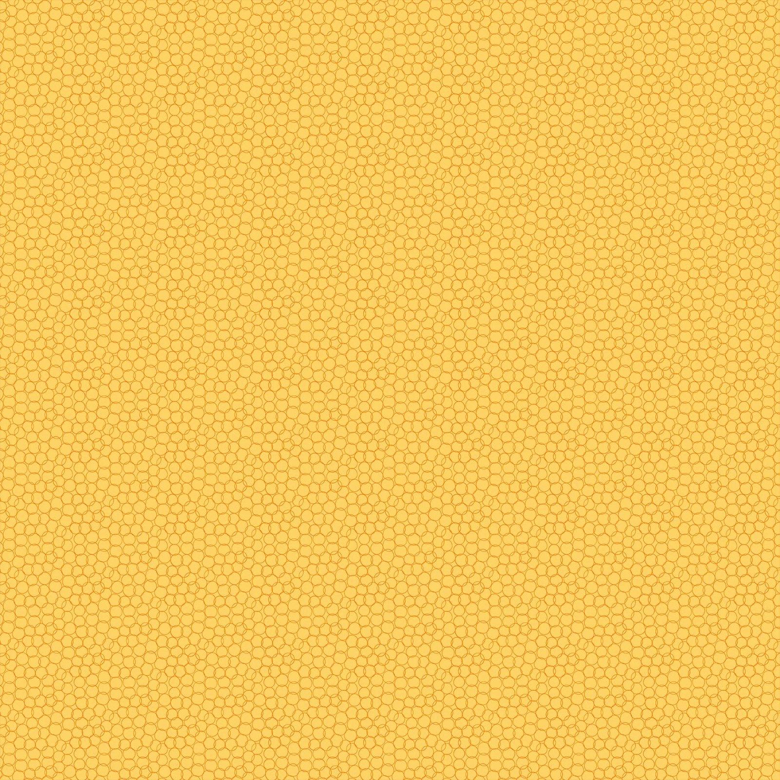 Grow by Pippa Shaw for Figo Fabrics - Bubbles - Yellow