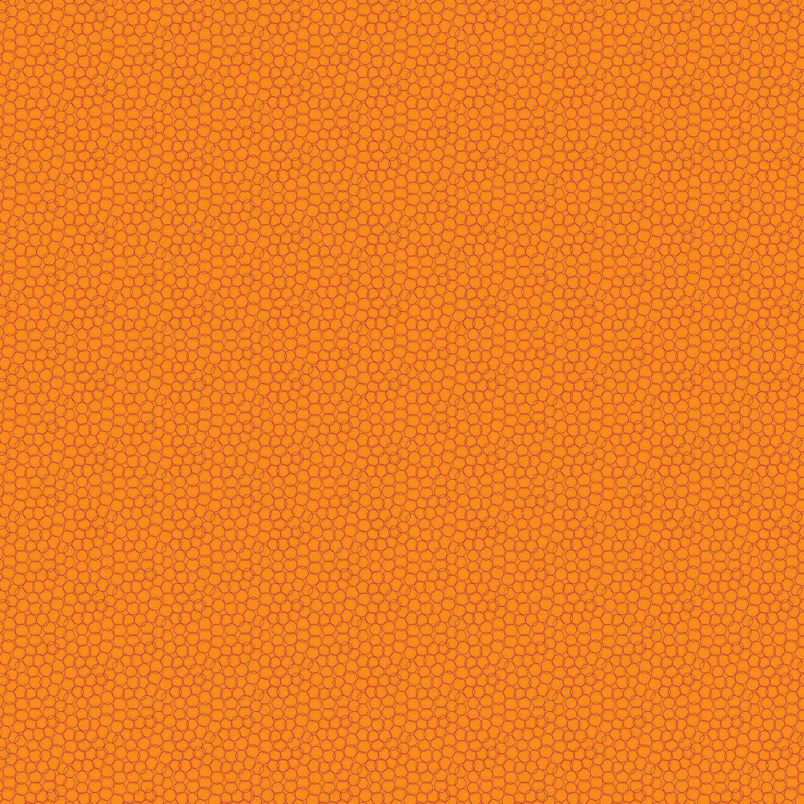 Grow by Pippa Shaw for Figo Fabrics - Bubbles - Orange