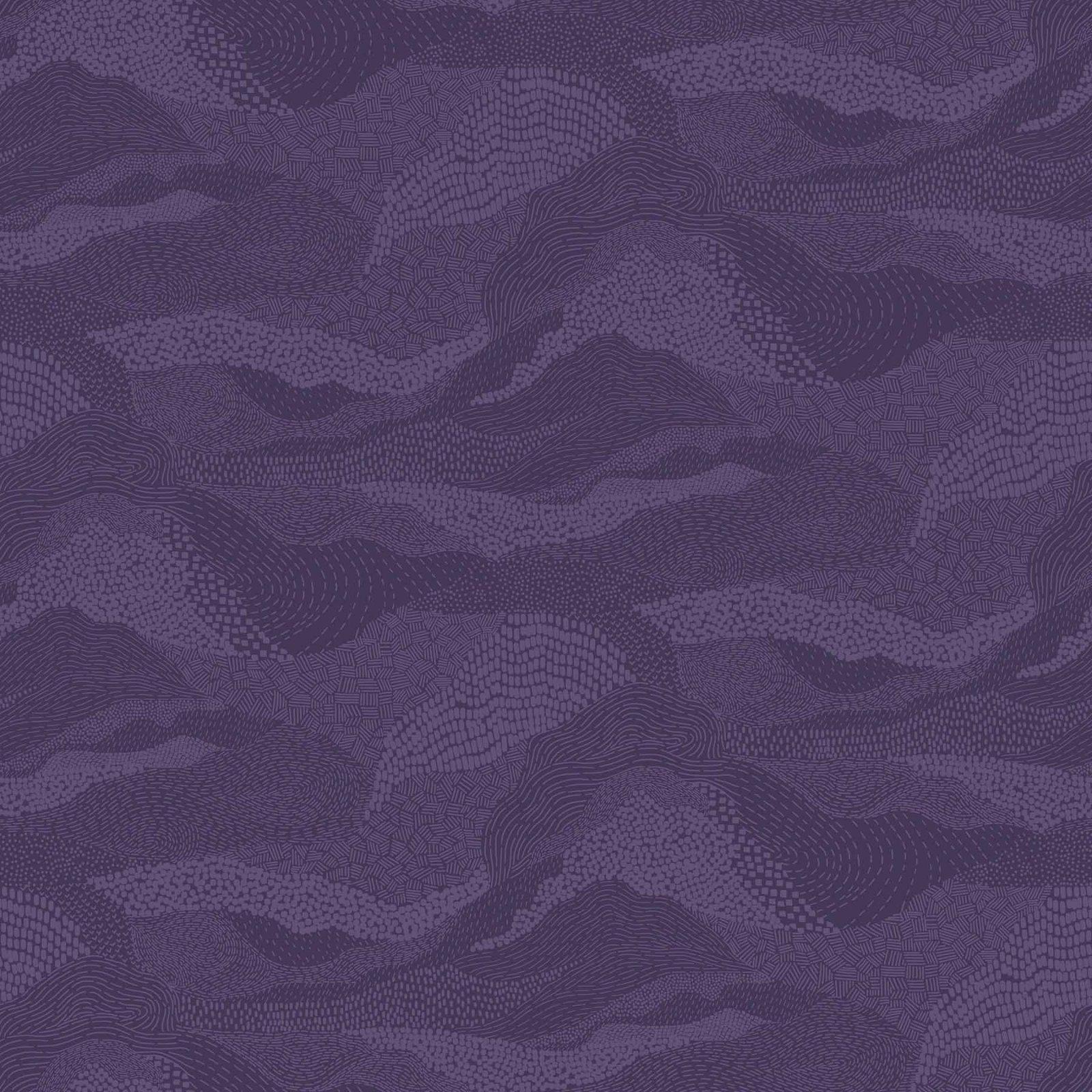 Elements by Ghazal Razavi - Earth - Purple