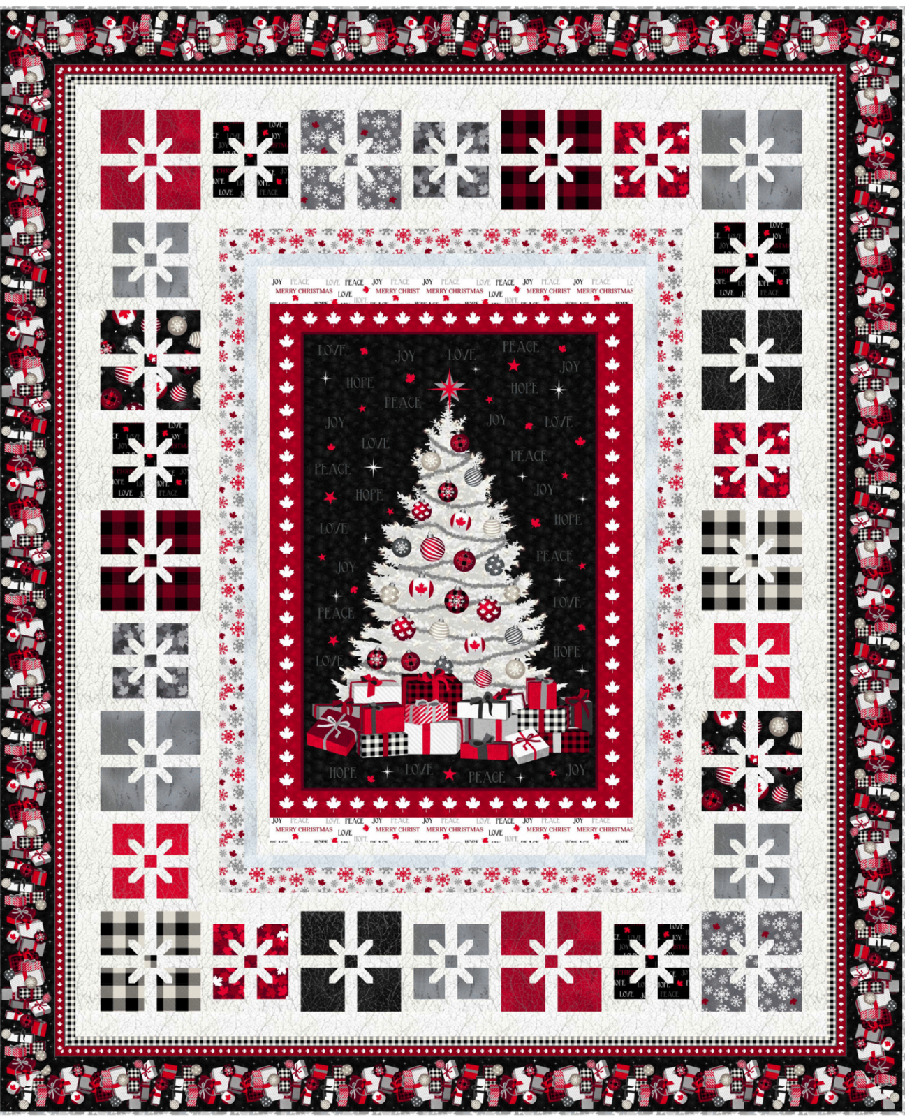 All Wrapped Up Quilt Kit