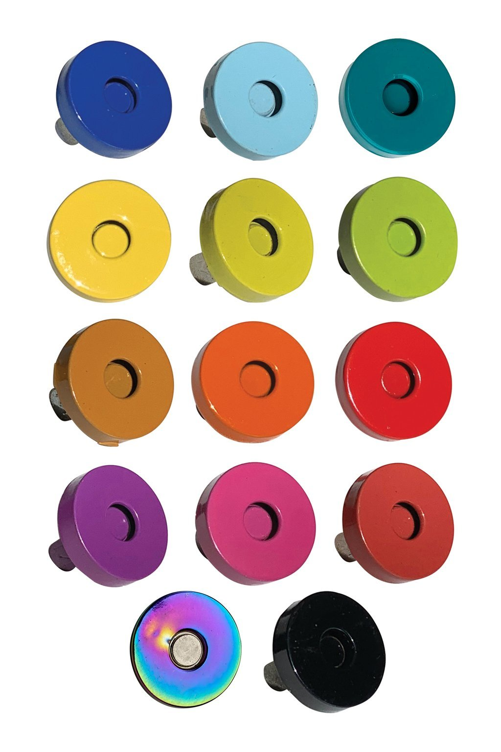 Magnetic Snaps by Sassafras Lane - Pack of 2 - 14 Colour Options