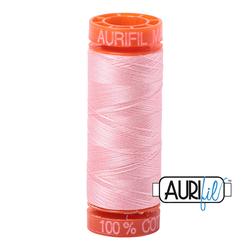Aurifil Cotton Mako 50 wt Thread - Small Spool-  Blush #2415