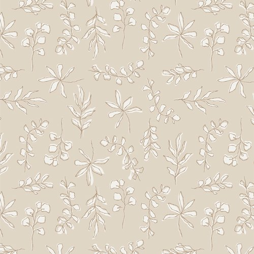 Soften the Volume Capsule by Art Gallery Fabrics - Sunbleached Leaves