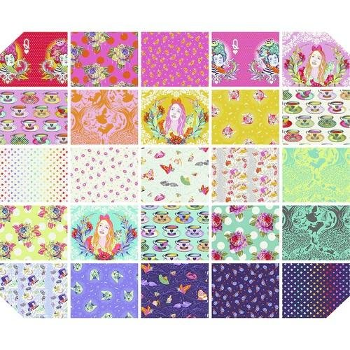 Curiouser & Curiouser by Tula Pink for Free Spirit Fabrics