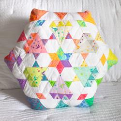 Diamond Dust Pillow - Complete Pattern & Paper Piece Pack