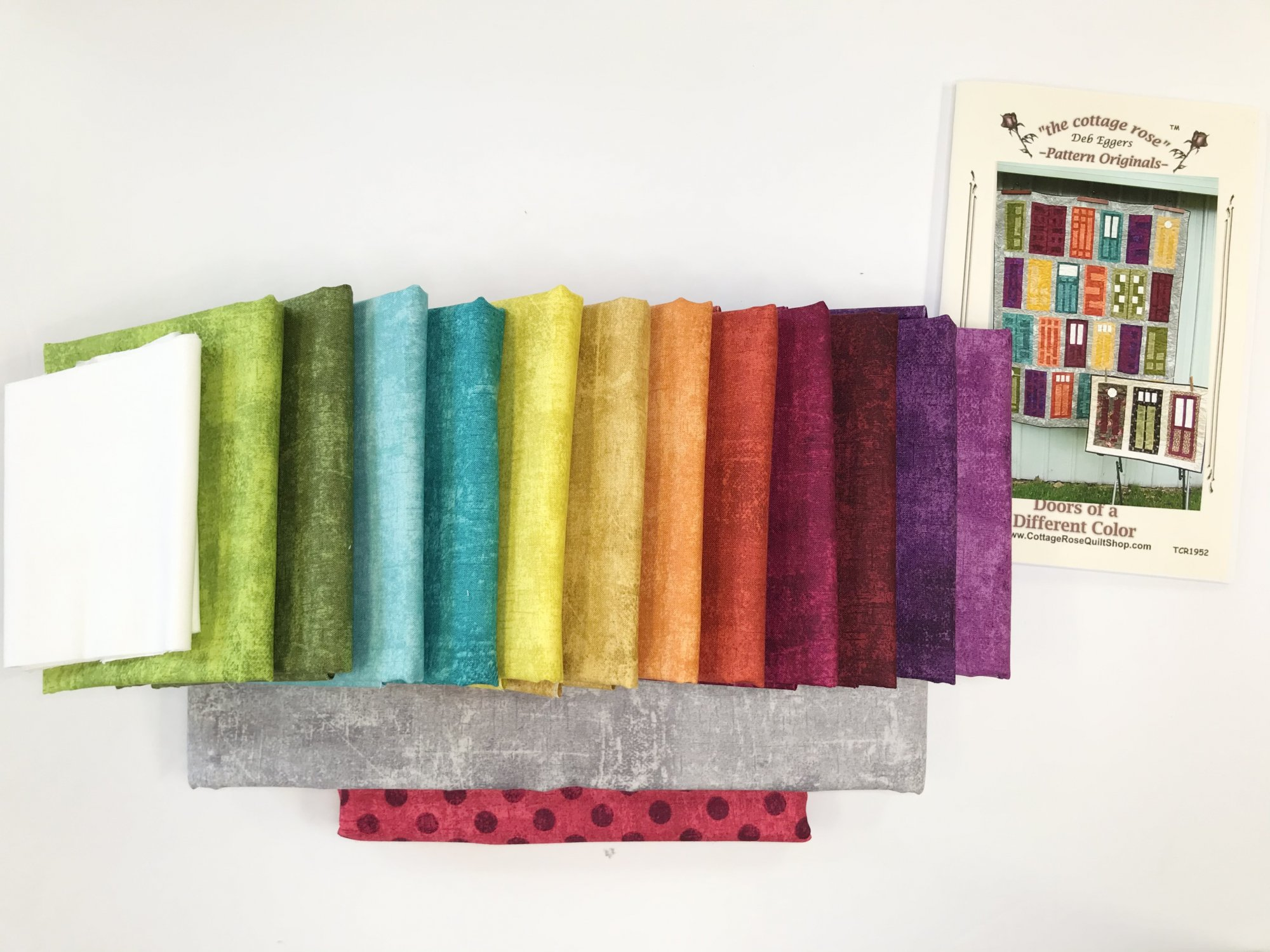 Doors of a Different Color - Quilt Kit and Pattern