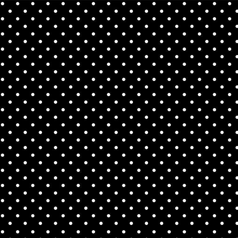Bonjour by Timeless Treasures - Tiny Dots - Black