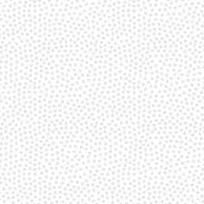 Vanilla Icing III by Blank Quilting - Dots in Gray on White