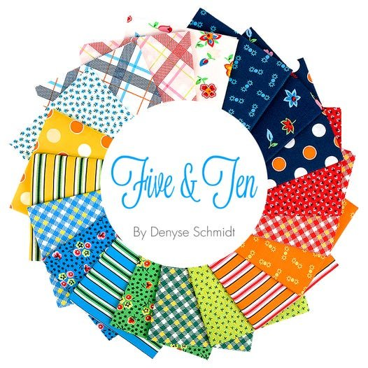 Five & Ten by Denyse Schmidt for Windham Fabrics  - Full Collection -