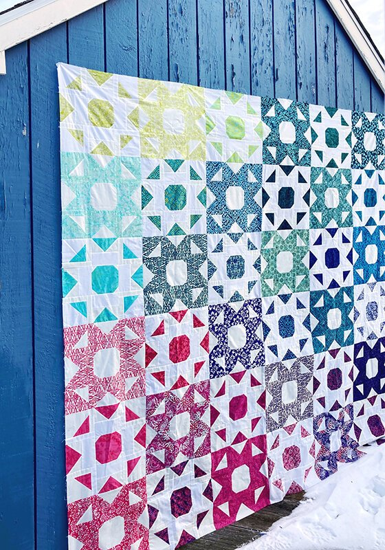 Harbor Sweets Quilt Kit by Kate Spain for Moda