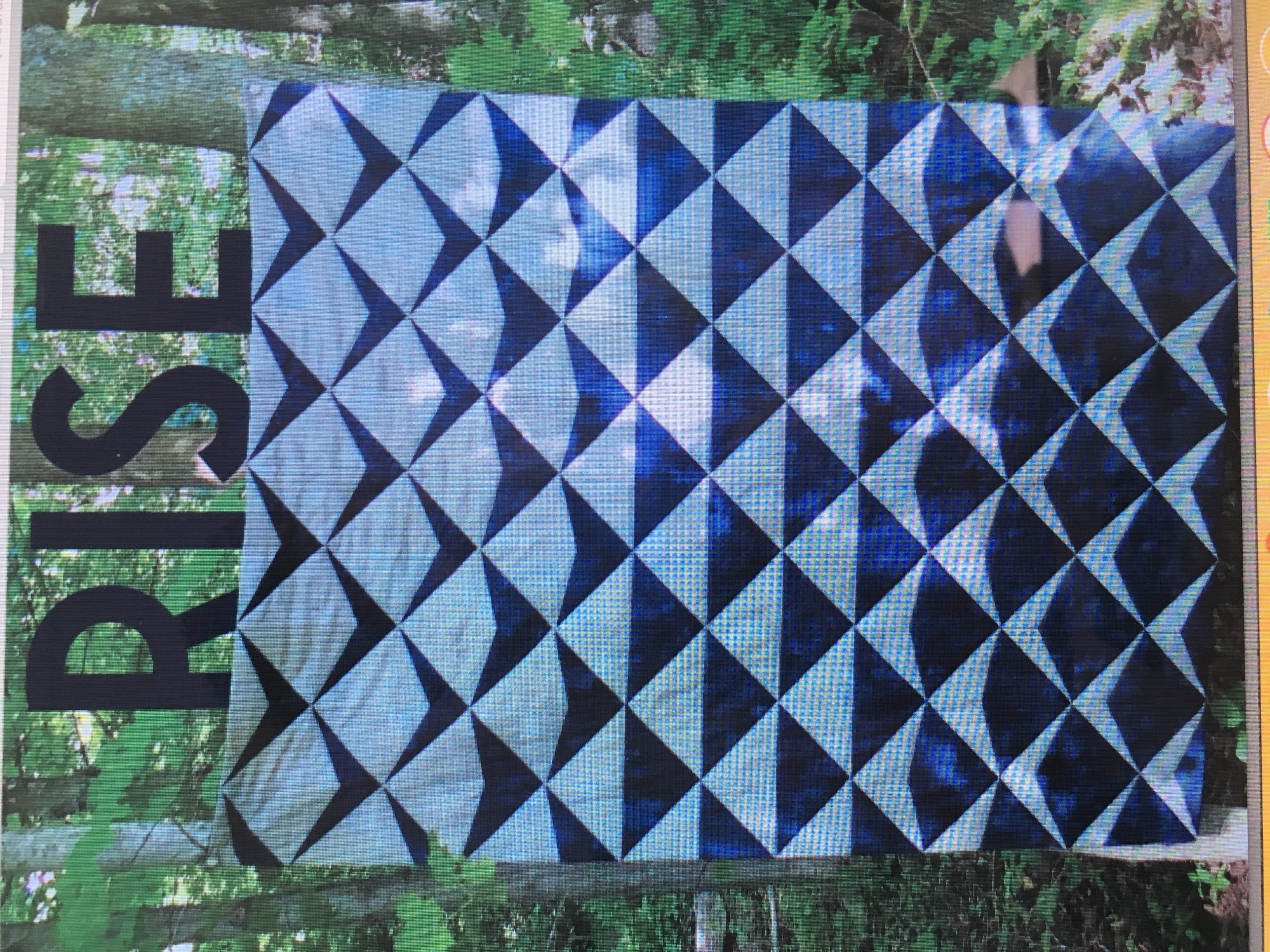 Rise Quilt Pattern  -  Studio 26 by Lethargic Lass- PDF Download