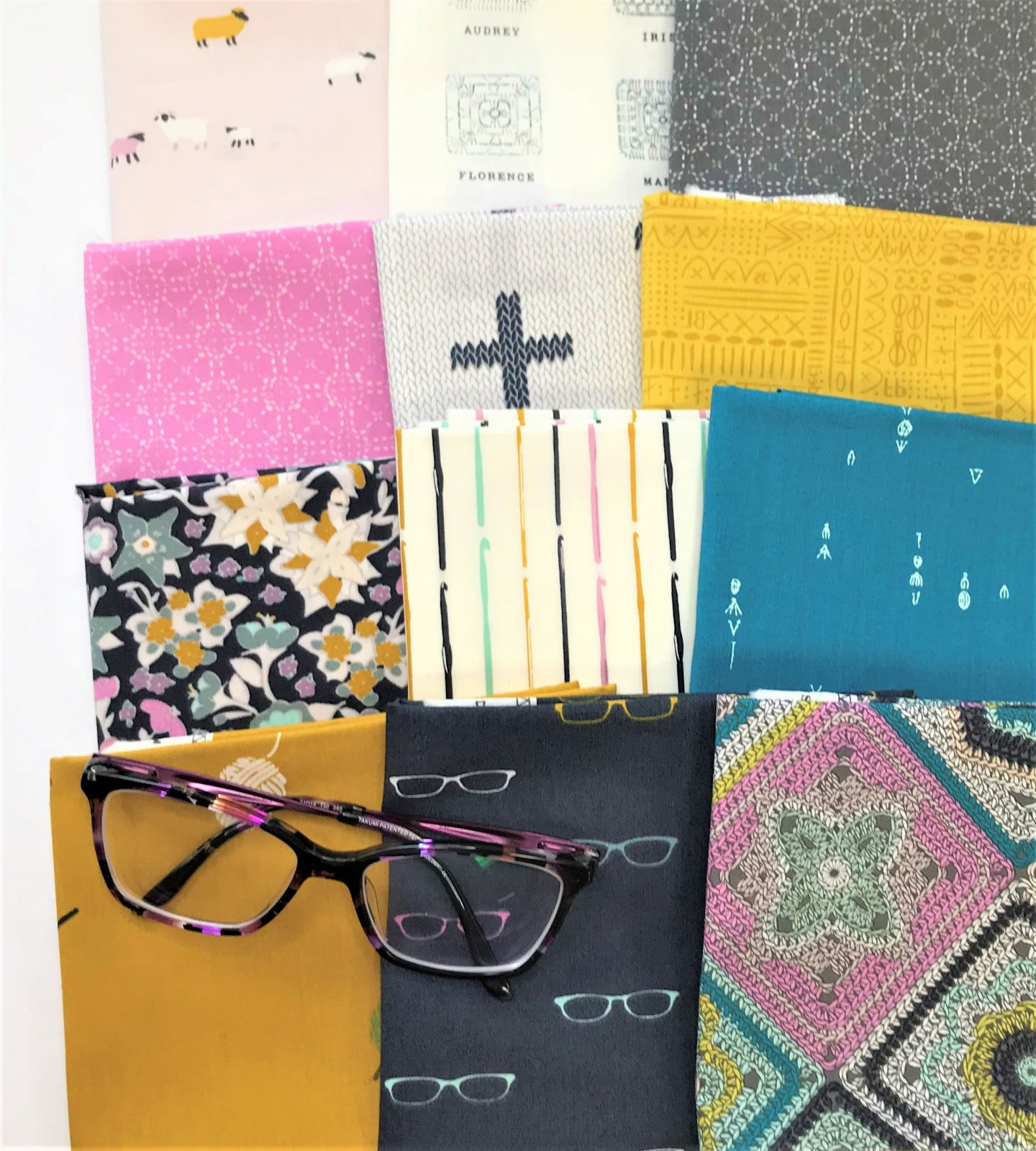 Hooked by Mister Domestic for AGF - 12 Fat Quarters Bundle