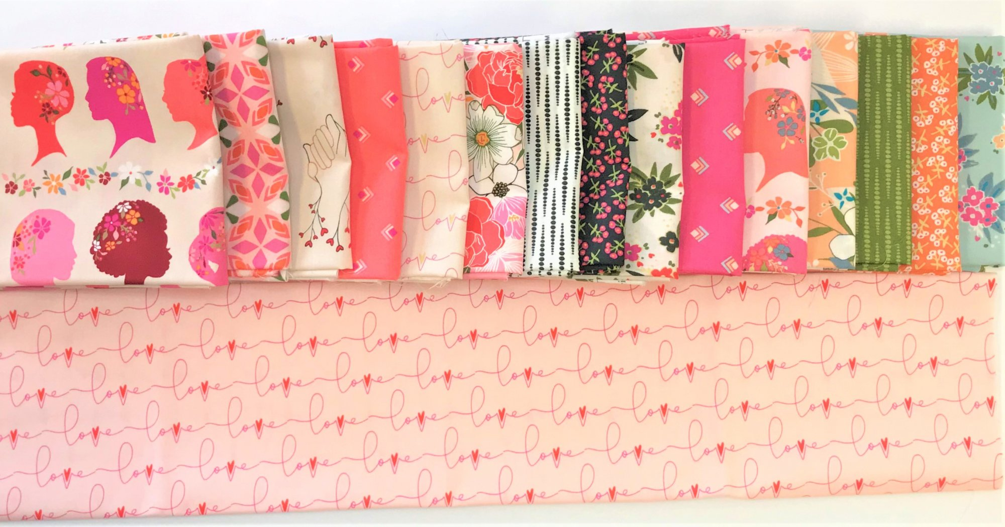 Open Heart by Maureen Cracknell for Art Gallery Fabrics (AGF) - Full Collection Bundles