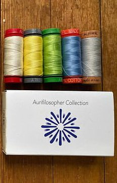 Poppyprint Auriphilospher Collection - 5 small spools
