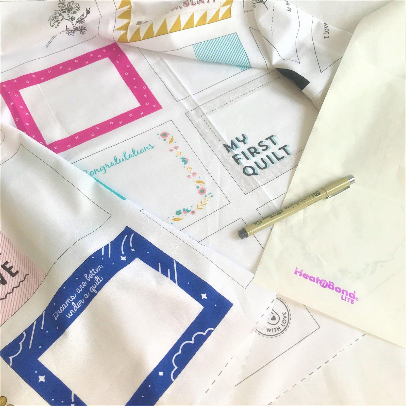 Label Your Quilts Kit