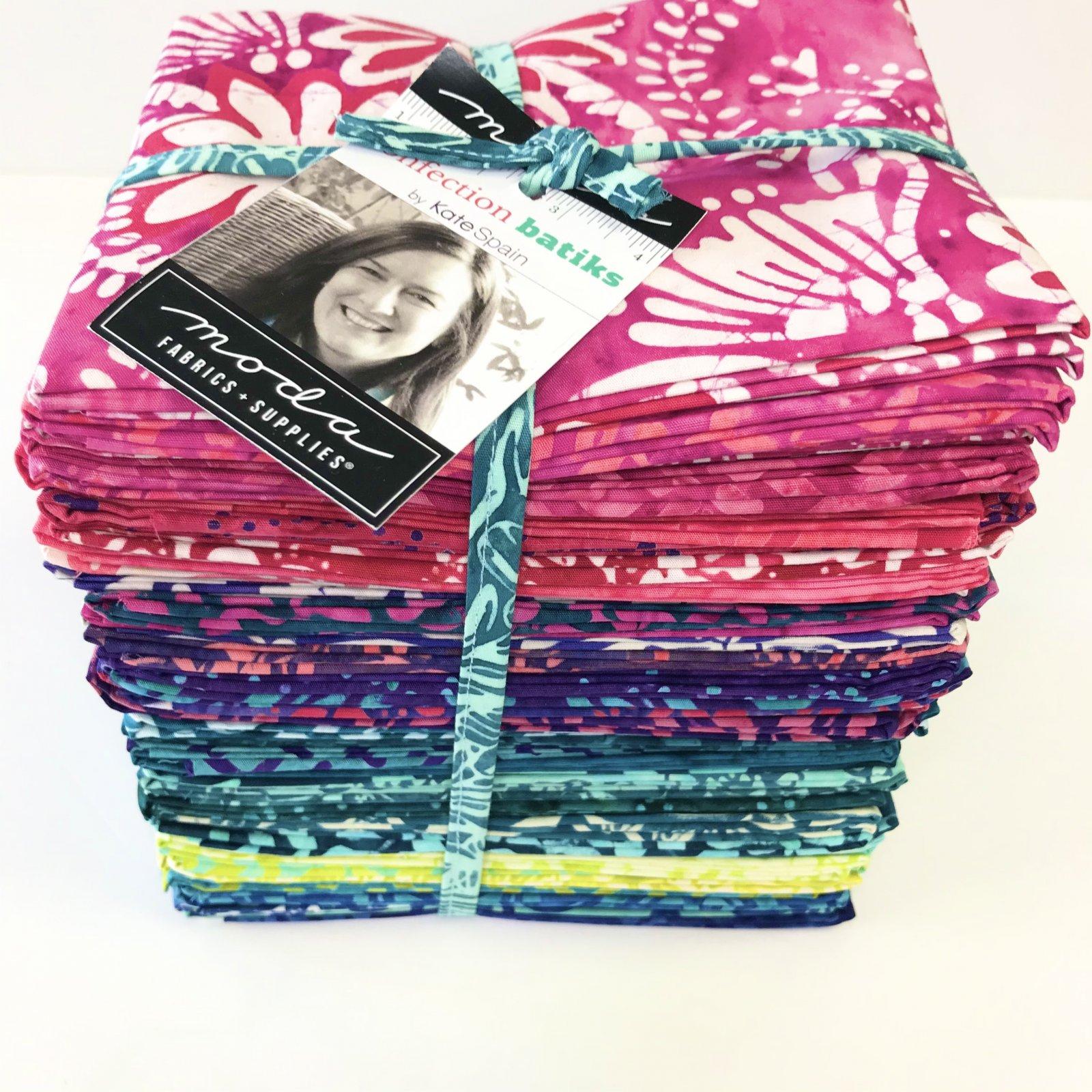 Confection Batiks By Kate Spain for Moda - 40 Fat Quarter Bundle