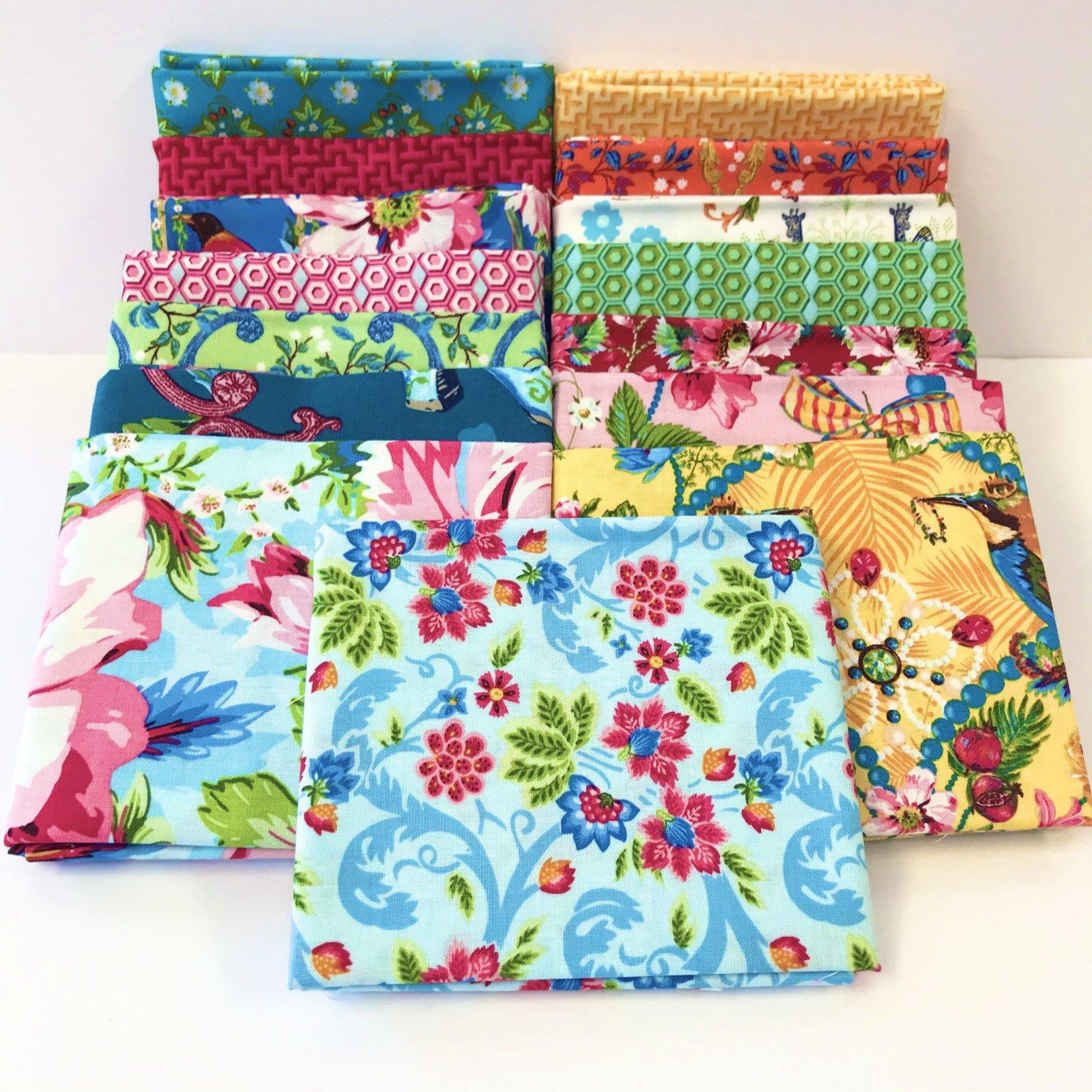 Jardin de la Reine by Odile Bailloeul for Free Spirit Fabrics - Full Collection Bundles