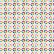 Art Theory by Alison Glass - Rainbow Star Light