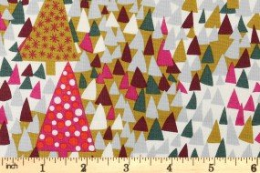 Season's Greetings - Liberty UK - Sparkling Forest Multi