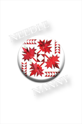 Oh Canada Magnet Quilt Dots