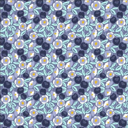 Glory by Megan Carter for Cotton + Steel Joani - Shadow