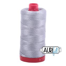 Aurifil Cotton Mako 12 wt Thread 356 yards - Mist #2606