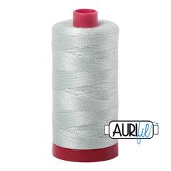 Aurifil Mako 12 wt Cotton - large spool - 2912 Platinum