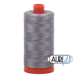 Aurifil Cotton Mako 50 wt Thread 1422 yards  - Arctic Ice #2625