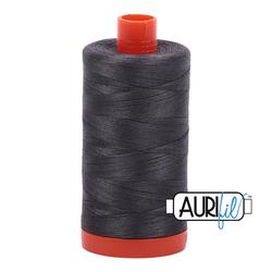 Aurifil Cotton Mako 50 WT Thread 1422 yards - Dark Pewter #2630